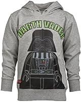 LEGO Wear Jungen Pullover LEGO Star Wars Kapuzenpullover Darth Vader STORM 351