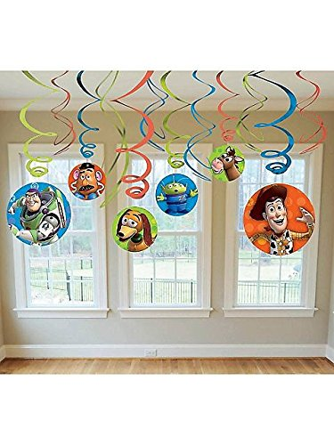 Toy Story 3 Hanging Swirls Party Decoration