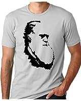 Charles Darwin Evolution T-shirt Atheist Tee