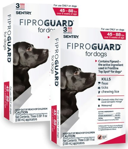 6-PACK Fiproguard Flea & Tick Squeeze-On for