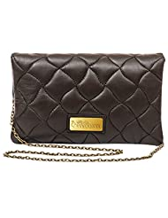 Sophia Visconti S-165_BRN Women's Sling Bag (Brown, SV018)