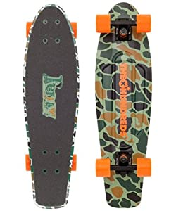 Buy Nickel 27 Hundreds Camo Colab Cruiser Complete Skateboard by Penny