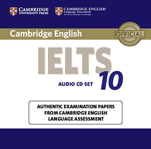 Cambridge IELTS 10 Audio CDs (2) (IELTS Practice Tests)