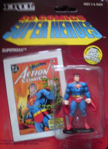 DC Comics Super Heroes Superman Standing Die Cast Metal Figure
