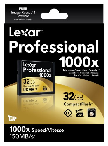 Lexar 32GB 1000X Professional Compact Flash Card
