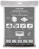 Zero Grid Travel Space Saver Bags Compression Storage & Packing Organizers 10 CT