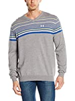 Under Armour Jersey V Chest Stripe (Gris)