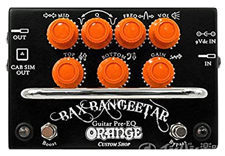 ORANGE「Bax Bangeetar Guitar Pre-EQ」