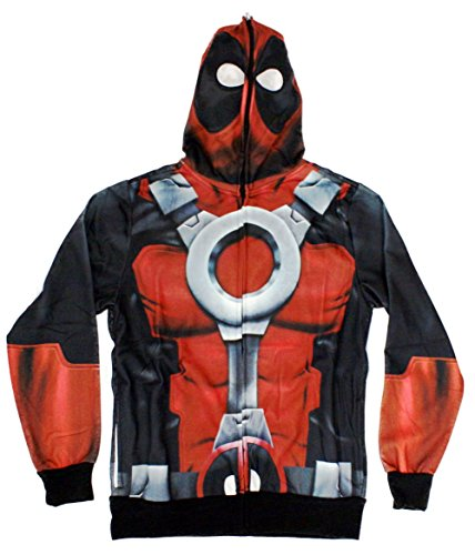 Marvel Deadpool Sublimated Costume Hoodie