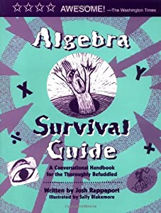 "Cover of ""Algebra Survival Guide: a Conve..."