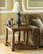 Hot Sale Medium Brown End Table