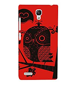 EPICCASE traditional drawing Mobile Back Case Cover For Xiaomi Redmi Note 4G (Designer Case)