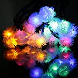 Solar Powered LED String Lights, Sehon® Waterproof, 15.7ft 20 LEDs Dandelion Lights, Perfect For Outdoor&Indoor Decor, like Christmas, Gardens, Lawn, Pathways, Patio, Weddings, Parties (Multi-color)