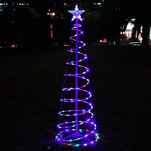 Led Lights For Outdoor Trees : Tree LED Lights Christmas Tree Multi Color Cool White Home Outdoor