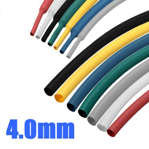 1M 4.0mm 2:1 Polyolefin Heat Shrink Tubing Tube