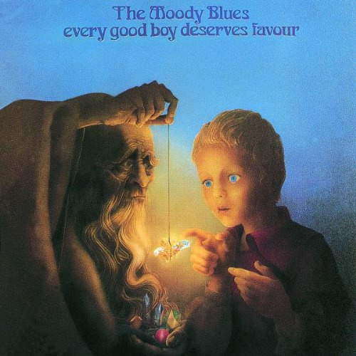 Original album cover of Every Good Boy Deserves Favour by Moody Blues