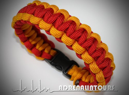 paracord-550-armband-bracelet-rettungsdienst-fire-brigade-drk-asb-sunset-yellow-fcf-orange-yellow-re