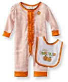 Absorba Baby Halloween Coverall Set
