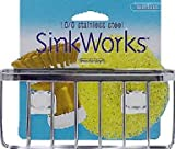 "Interdesign 84702 ""Sinkworks"" Suction Sink Center, Stainless Steel"