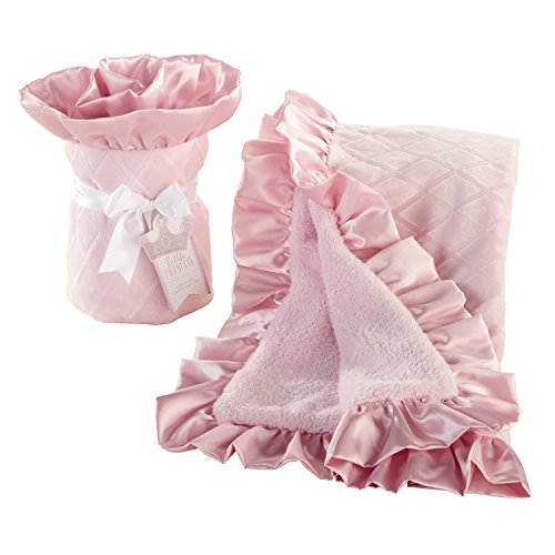 Baby Aspen Little Princess Blanket, Pink - 1