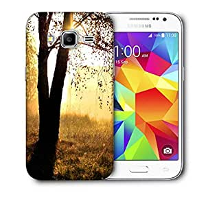 Snoogg Single Tree In Garden Printed Protective Phone Back Case Cover For Samsung Galaxy Core Plus G3500