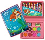 Disney Art Kit - Princess Ariel 23pcs Coloring Set