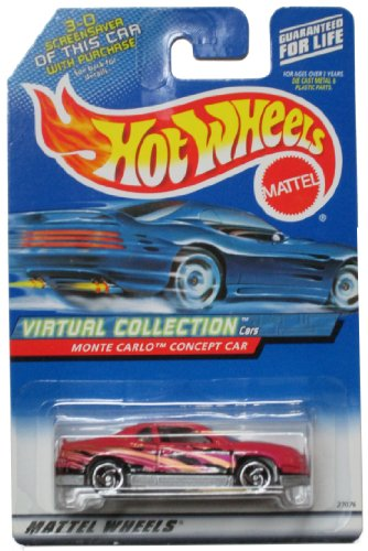 Hot Wheels Virtual Collection Monte Carlo Concept Car - 1