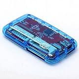 [ 3パック] EtechコレクションUSB 2.0デュアルスロットMicroSD / MicroSDHC / MicroSDXC & SDHC / SDXCカードリーダー/ライター–-サポートSanDiskキングストン256GB 128GB 64GB 32GB UHS - I Micro SD HC、ウルトラ/ Extreme速度 LYSB01IF7TPMI-CMPTRACCS