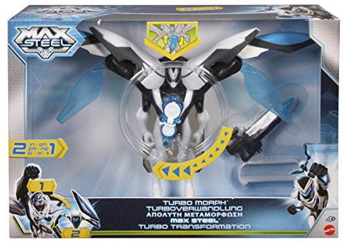 Max Steel Turbo Morph Max Steel Figure - 1