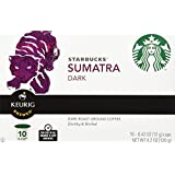 Starbucks Sumatra Dark, K-Cup Portion Pack for Keurig K-Cup Brewers, 10-Count 0.42 ounce (Pack of 3)