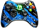 5,500+ Mode Modded Gaming Controller For Xbox 360 & PC In Custom BLUE SPLATTER SHELL!!! Hydro-Dipped Shell (New High Quality Finish) Will Not Chip, Scratch, or Fade -Sniper Quick Scope & Hold Your Breath,Jitter,Drop Shot,Jump Shot,Auto Aim For Nazi Zombies, Special Ops & Campaign Missions, Auto Burst 1 To 8 Rounds Per Trigger Pull,Quick Aim,Dual/Akimbo,Mimic, And More