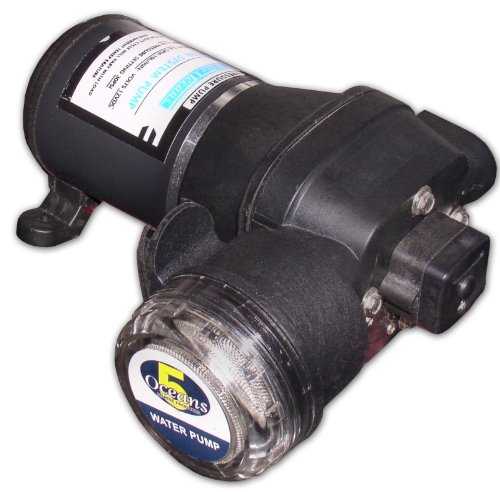 Automatic Water Pressure Pump W/filter 3.3 Gpm Marine. Five Oceans