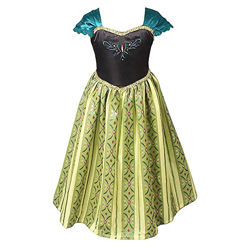 EA Selection Girl's Stunning Cosplay Princess Party Fest Costume Dress 2-6yr