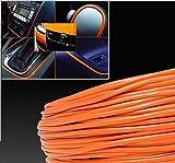 10M Orange Car Grille Exterior Chrome Styling Decoration Moulding Trim Strip 4mm