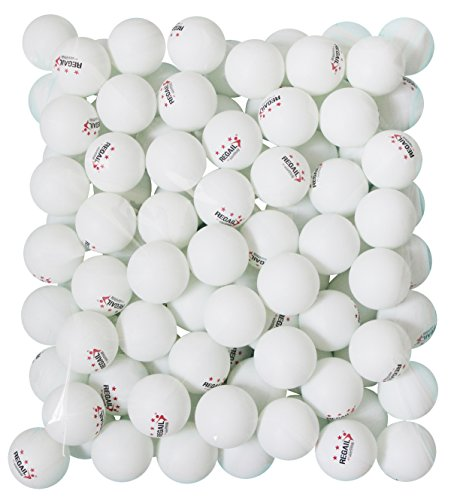 Find Cheap 100 White 3-star 40mm Table Tennis Balls Advanced Training Ping Pong Balls
