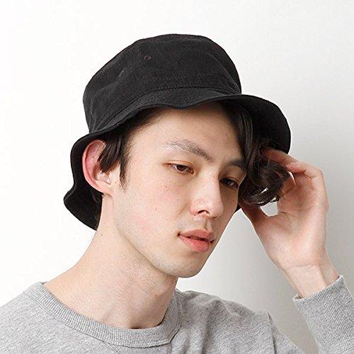 カスターノ(CASTANO) 帽子(麻バケットハット)【ブラック/**】