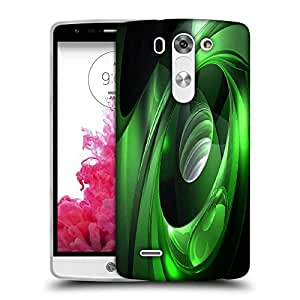 Snoogg Green Tribals Designer Protective Phone Back Case Cover For LG G3 BEAT STYLUS