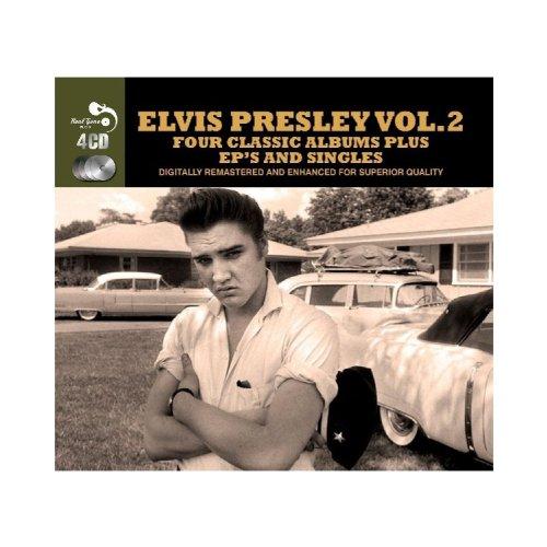 Four-Classic-Albums-Plus-Elvis-Presley-Audio-CD