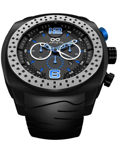 ACCENTOR Racing Watch from LAPIZTA. Men's Chronograph Oversize Watch 48mm - 515zwRg94AL - ACCENTOR Racing Watch from LAPIZTA. Men's Chronograph Oversize Watch 48mm
