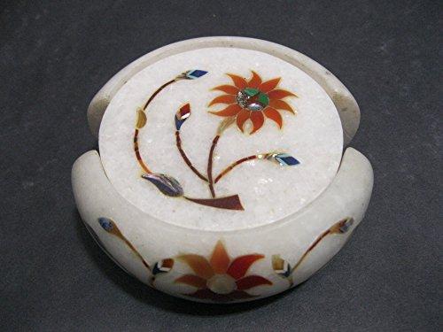 45-marmo-coaster-set-di-6-pezzi-con-pietre-semi-preziose-pietra-dura-intarsiato-lavoro-elegante-roya