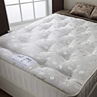 ROYALE Orthopaedic Medium Firm Spring Mattress All Sizes by Happy Beds