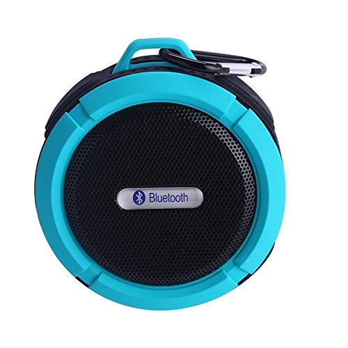 F-Dorla F-Dorla 2014 New Mini Bluetooth Speaker Both For Outdoor Travel And Bathroom Fit For Smartphone, Ipad,Iphone,Samsung Galaxy,And Other Bluetooth Devices Ipx7(Y-Blue)