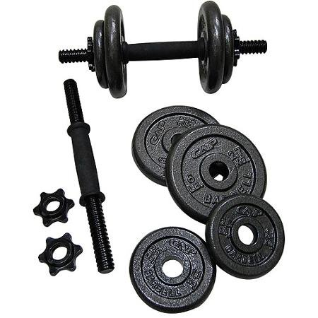 Gold's Gym Adjustable Cast Dumbbell Set