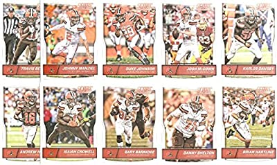 Cleveland Browns - 2016 Score Football 15 Card Team Set w/ Rookies (PLUS 1 Special Insert Card)