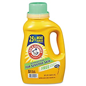 Arm & Hammer Liquid Perfume and Dye Free Dual He, 50 Fluid Ounce