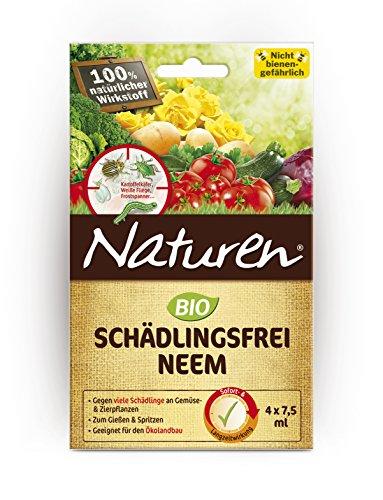 7004 Bio Schädlingsfrei Neem, 4 x 7,5 ml