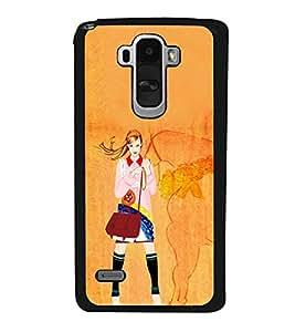 ifasho Designer Phone Back Case Cover LG G4 Stylus :: LG G4 Stylus H630D H631 H540 ( Beard No shave November )