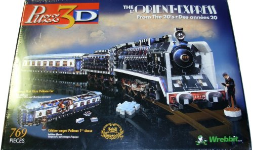 Cheap Wrebbit Puzz 3D – The Orient Express from the 20s (B0012TXMIK)