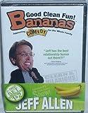 Bananas Jeff Allen V1 & V2 Clean Christian Comedy 2 DVDs