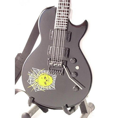 KIRK HAMMETT - Replica ESP KH 3 SPIDER & SKULL - chitarra in miniatura exclusive